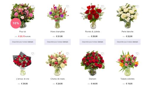 image de bouquets euroflorist