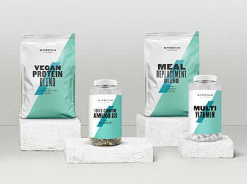 image de produits vegan de Myprotein