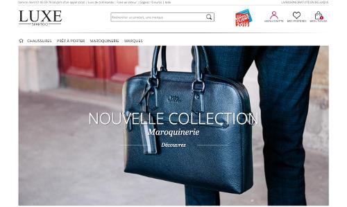 image de la page de luxe sur Spartoo belgique