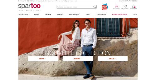La nouvelle collection pour les hommes et les femmes chez Spartoo