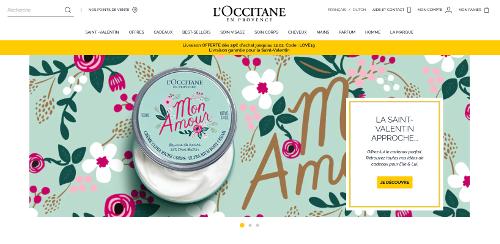 image des offres et code réductions du site L'Occitane Belgique