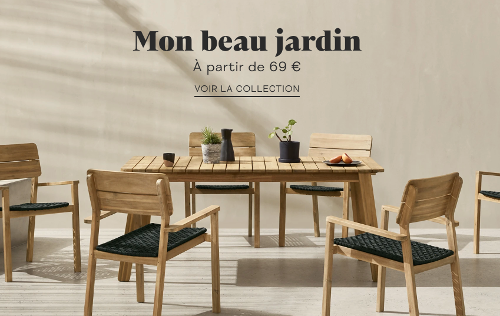 image de meubles jardin vendus sur Made.com