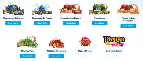 image des parcs d'attractions Plopsa